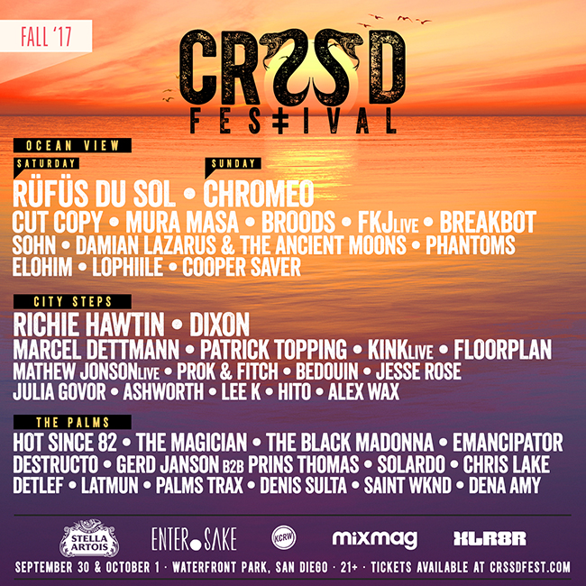 Image result for crssd fall 2017 lineup
